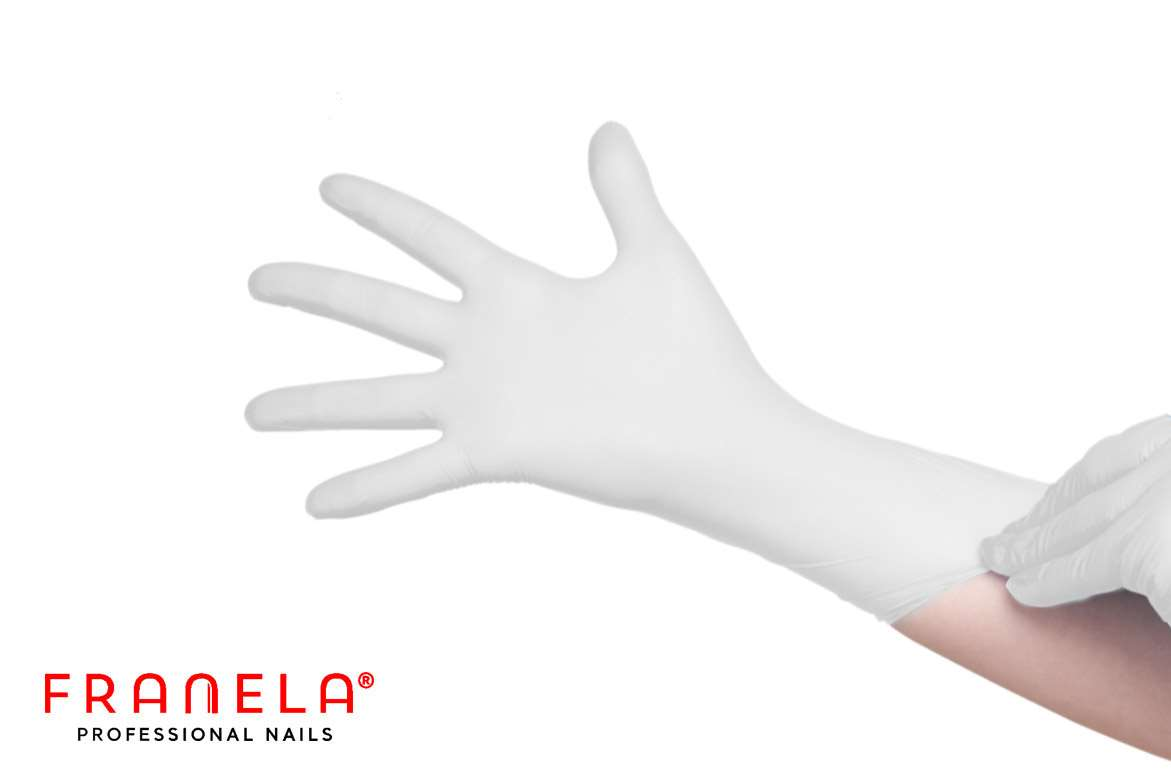 Disposable Latex gloves , powder free,  size M