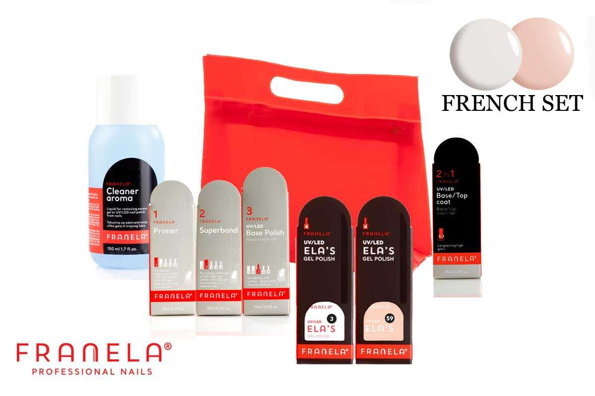 Permanent Polish Franela SET, MINI