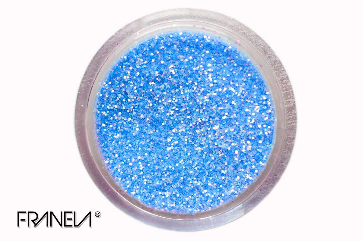 Glitter 33, Light blue dust, 0,1 mm