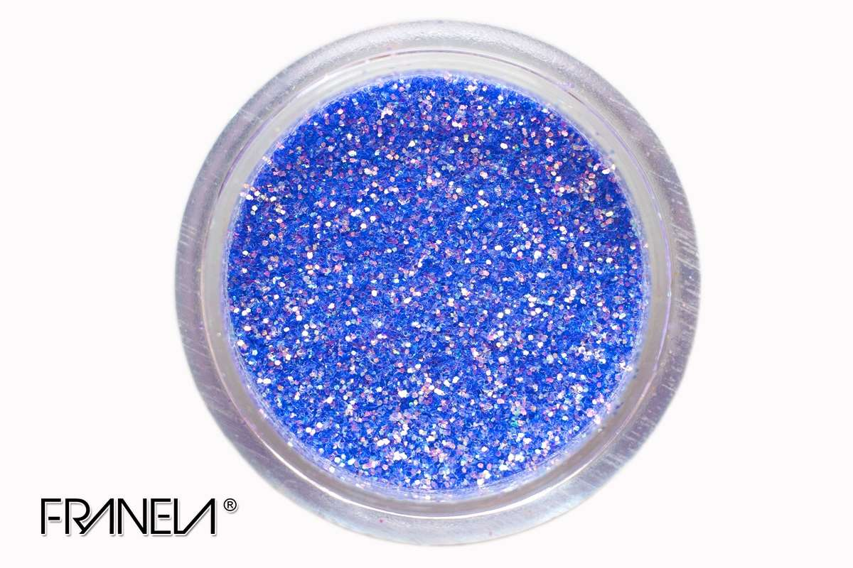 Glitter 34, blue dust, 0,1 mm