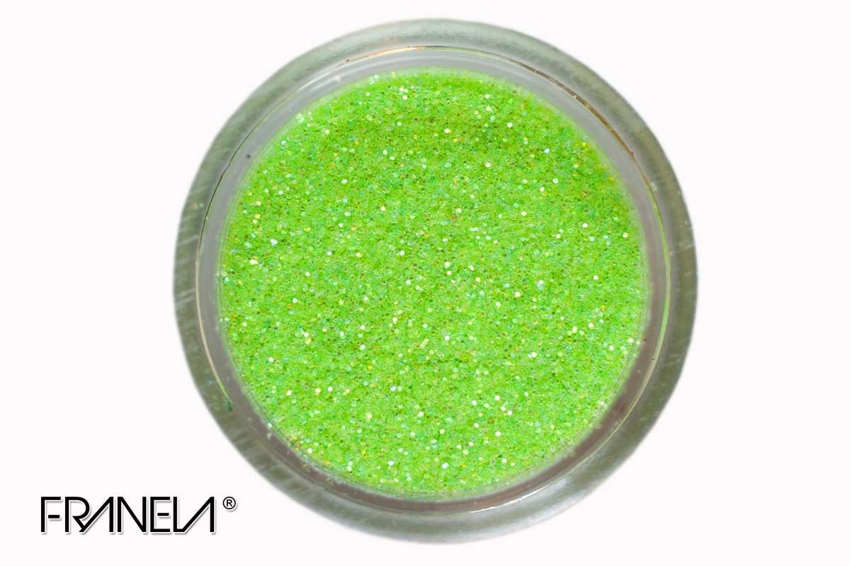 Glitter 55 - Green dust, 0,1 mm