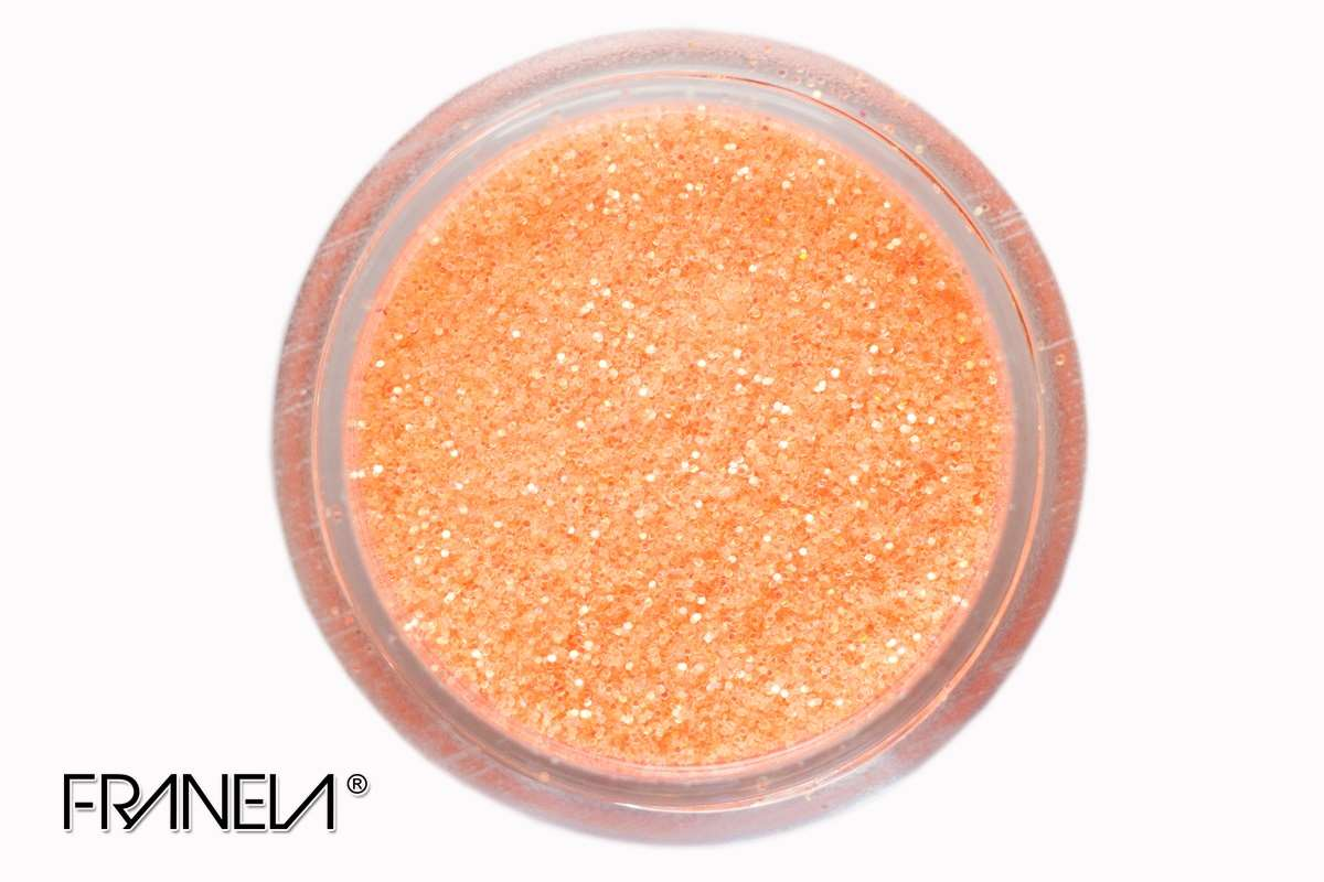 Glitter 61 - Orange dust, 0,1 mm