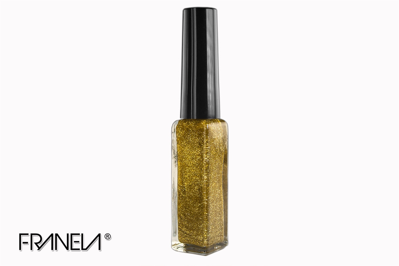 Nail art liner, gold glitter, 9ml