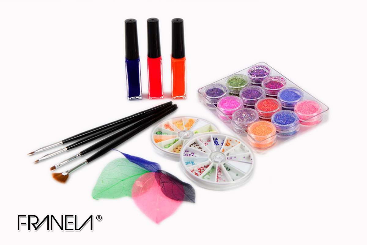 Nail art set Franela 5