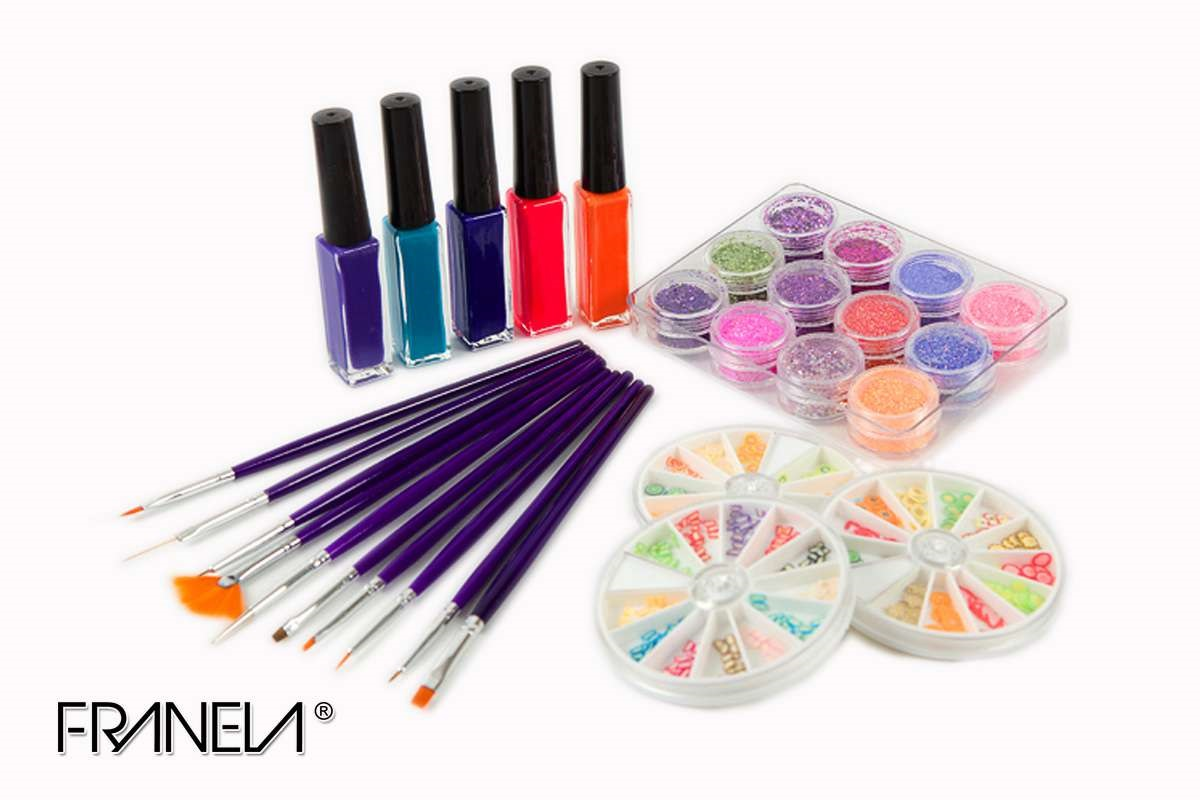 Nail art set Franela 8