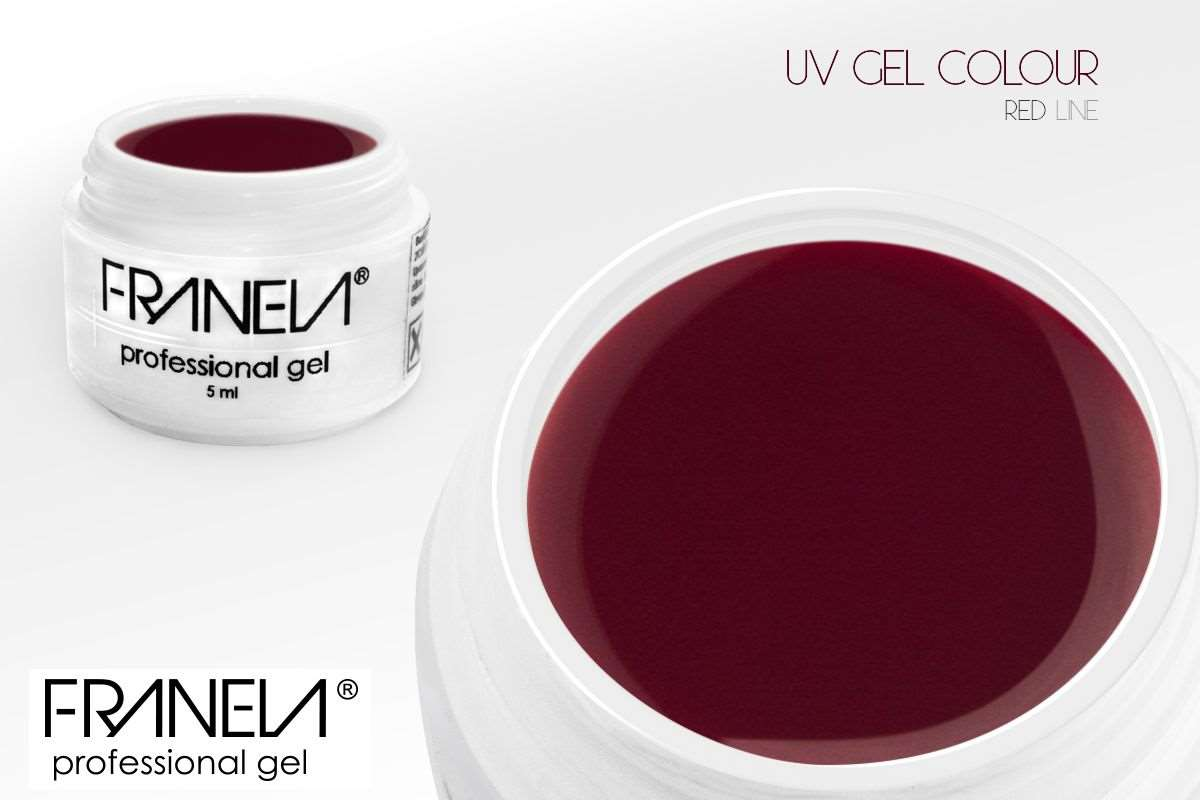 CP53 uv gel u boji tamno bordo