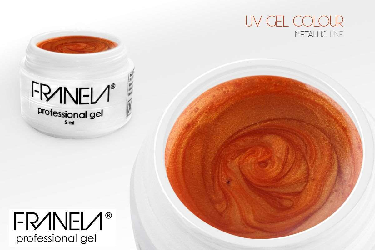 L28 metallic barvni Uv gel